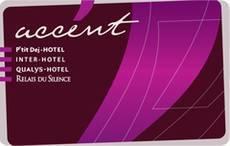 carte fidélité accent Interhotel