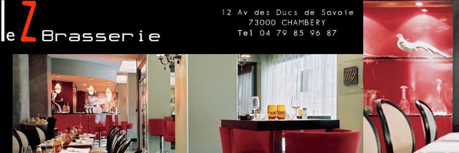 Chambery restaurant Brasserie Z