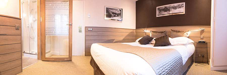 Nouvelles chambres Chalet Hôtel des Princes
