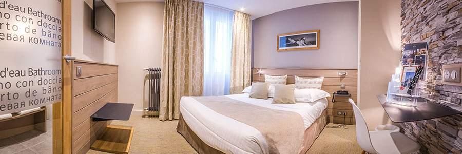 Nouvelles chambres chalet hôtel des Princes Chambéry