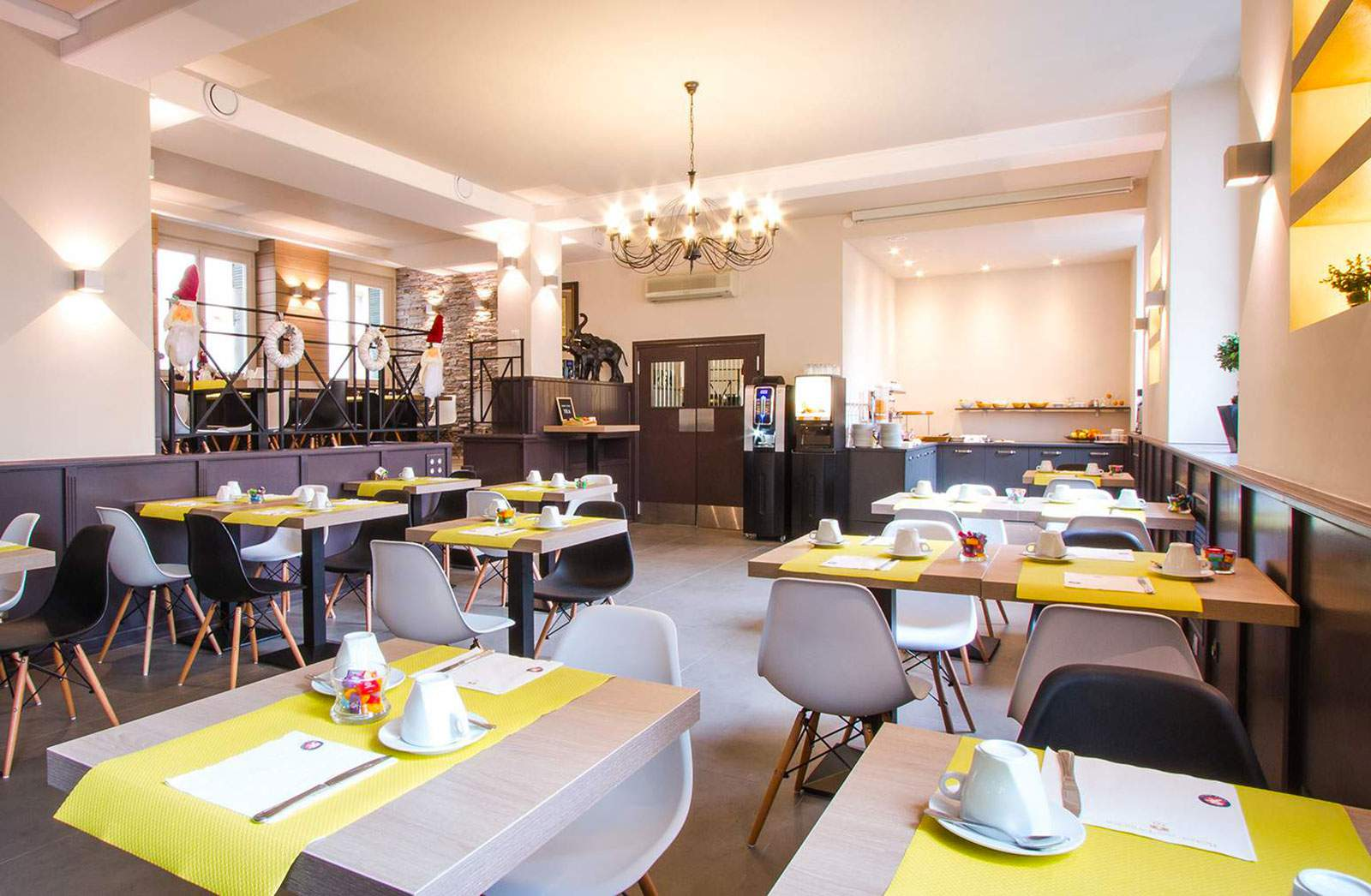 petit dejeuner hotel des princes chambery
