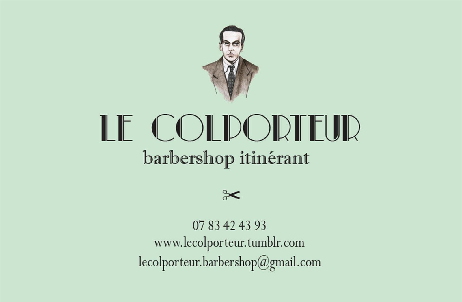 Colporteur Barbershop Chambéry