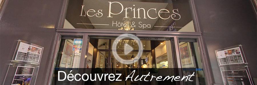 Vidéo Youtube Hôtel des Princes Chambéey