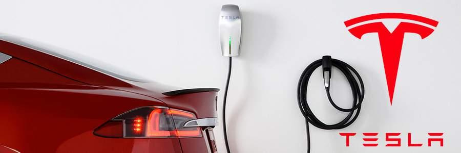 Recharge véhicule électrique Tesla