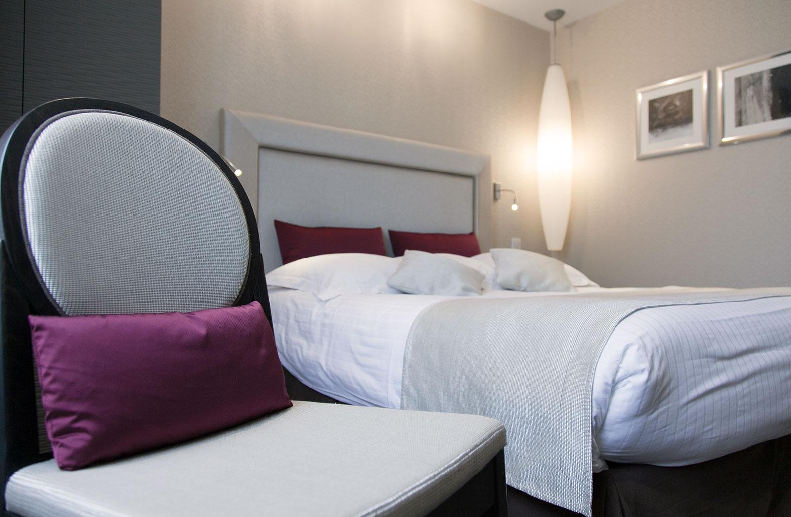 Chambéry Hotel des Princes chambre élégance